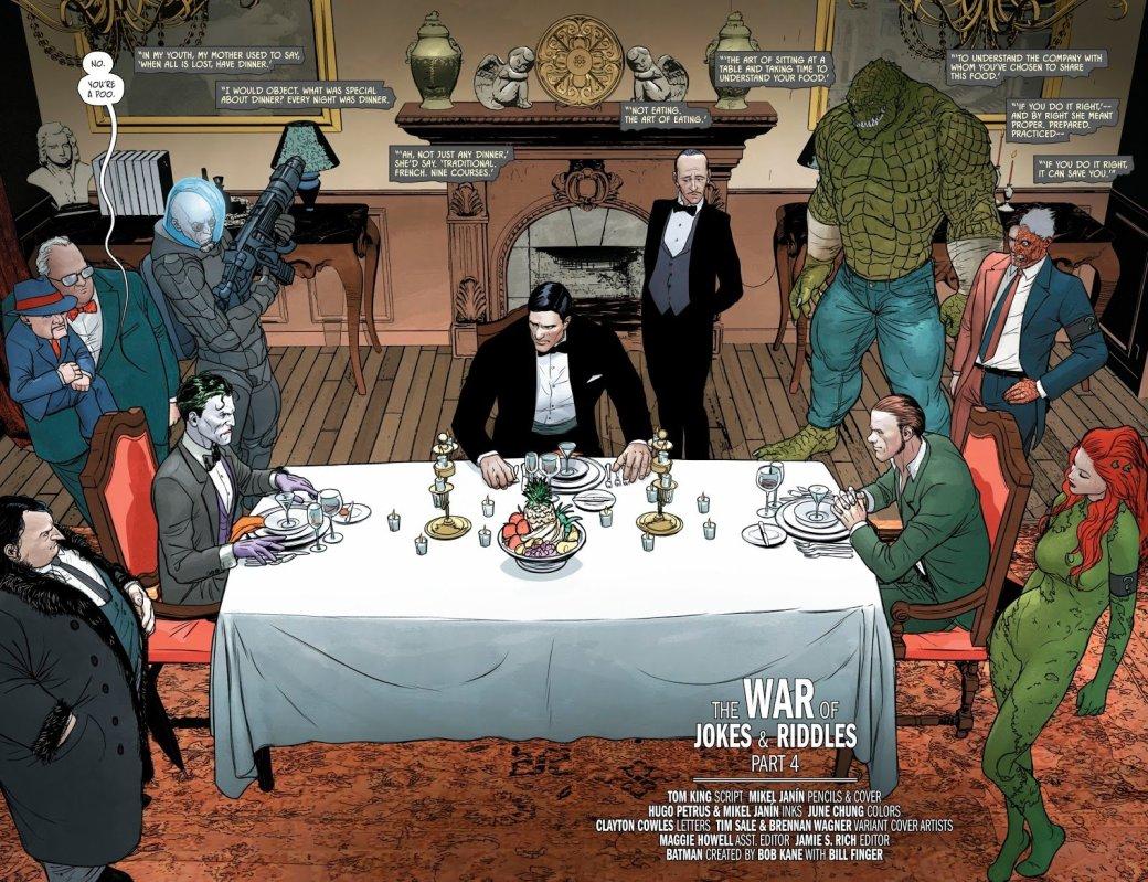 Зачем нужна была война Джокера иЗагадочника настраницах комикса «Бэтмен»?. - Изображение 24