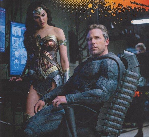 Бэтмен, Чудо-женщина иАквамен насвежих кадрах сосъемок «Лиги справедливости». - Изображение 3