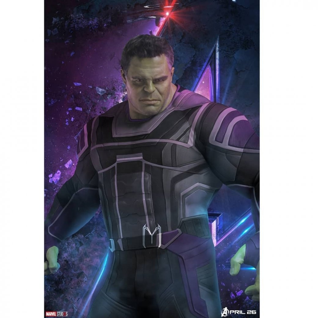 Очень много новых промо-артов по«Мстителям: Финал» (есть даже сновой броней Таноса!)   Канобу - Изображение 6372