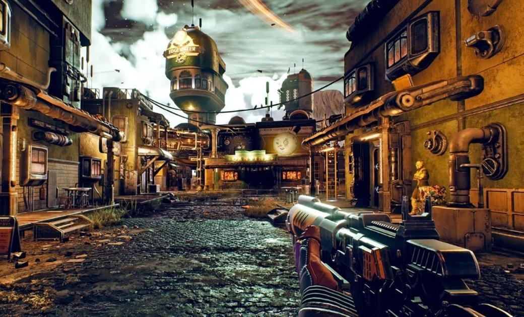 Новый геймплейный ролик The Outer Worlds: 20минут атмосферного ретрофутуризма   Канобу - Изображение 8064