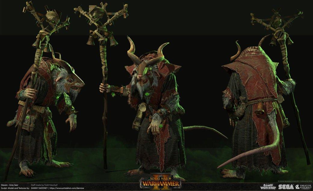 Взгляните напотрясающие концепт-арты Total War: Warhammer II. - Изображение 40