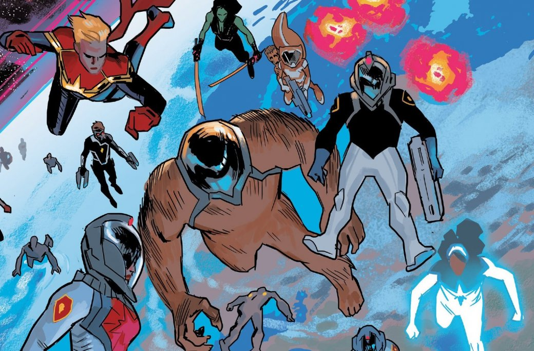 Капитан Америка как лидер Гидры. Галерея ярких моментов Secret Empire | Канобу - Изображение 15