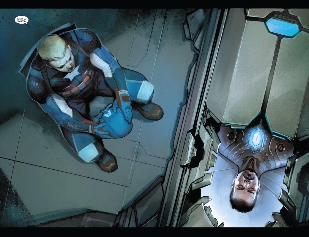 В эпилоге Civil War II Капитан Америка-агент Гидры стал главой ЩИТ | Канобу - Изображение 5095