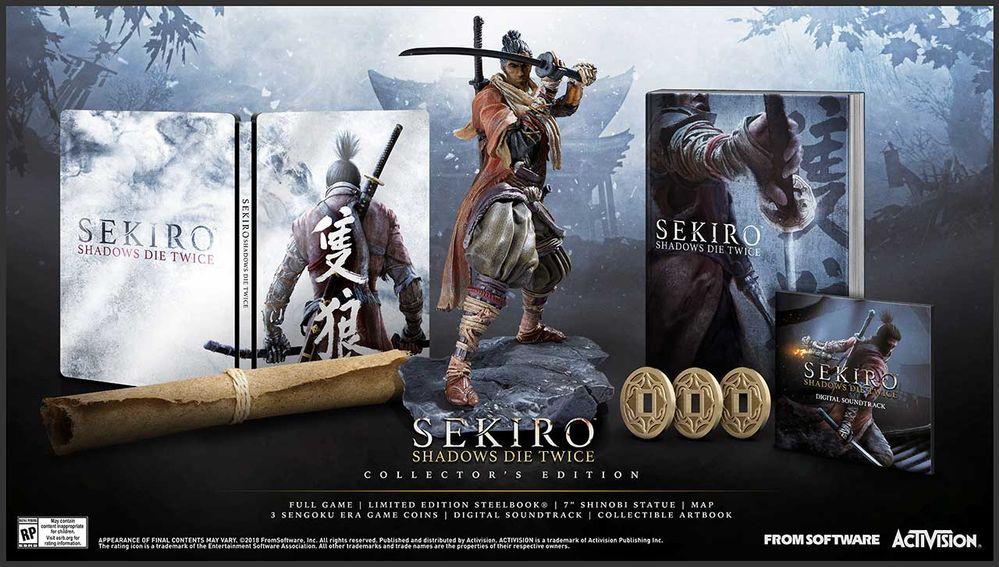 Создатели Sekiro: Shadows Die Twice раскрыли ее дату выхода и показали коллекционное издание | Канобу - Изображение 1809