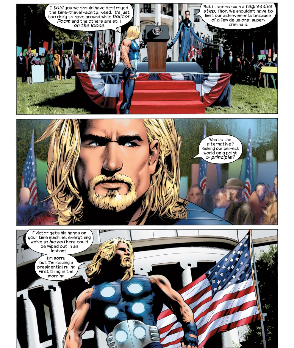 10 безумных версий Тора вкомиксах Marvel. - Изображение 10