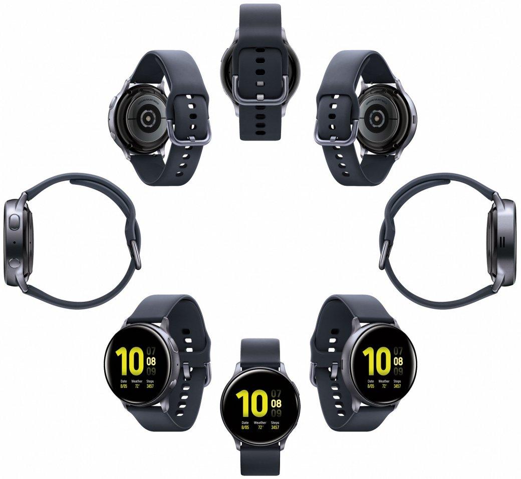 Смарт-часы Samsung Galaxy Watch Active 2получили сенсорный корпус иценник от18000 рублей | SE7EN.ws - Изображение 3