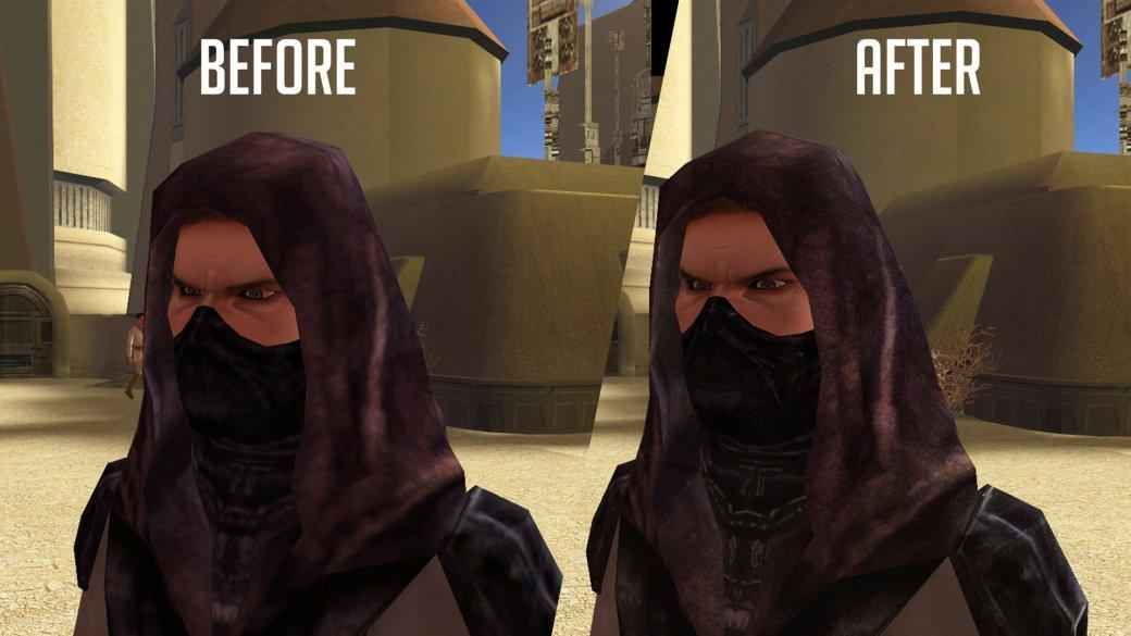 Фанатский мод для Knights ofthe Old Republic значительно улучшает внешний вид персонажей | Канобу - Изображение 5